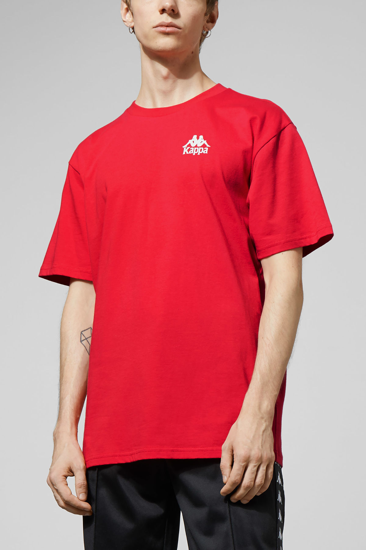 Model front image of Weekday  in red