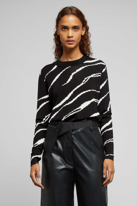 Weekday Tyra Jacquard Sweater