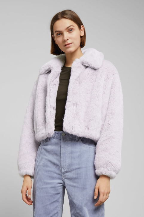 Weekday Frida Faux Fur Jacket