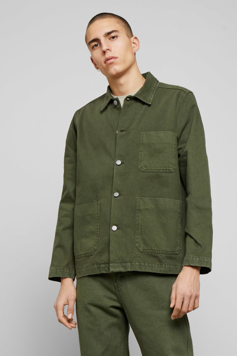 Weekday Generic OD Green Jacket
