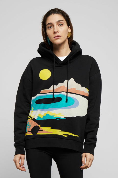 Weekday Alana Hooded Sweatshirt