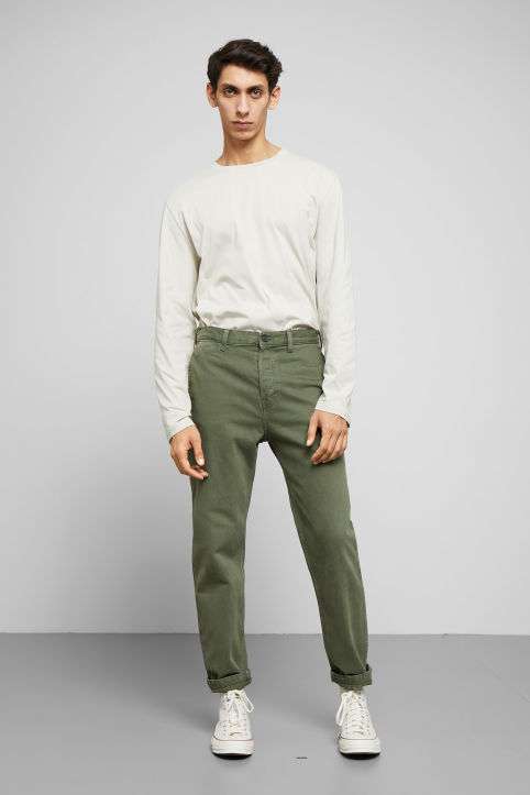 Weekday Sack OD Green Jeans