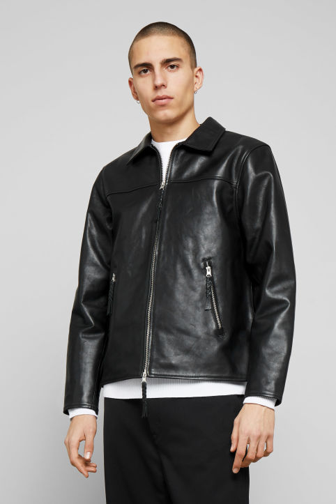 Weekday Jimi Leather Jacket