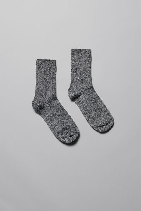 Weekday Foot Rib Socks