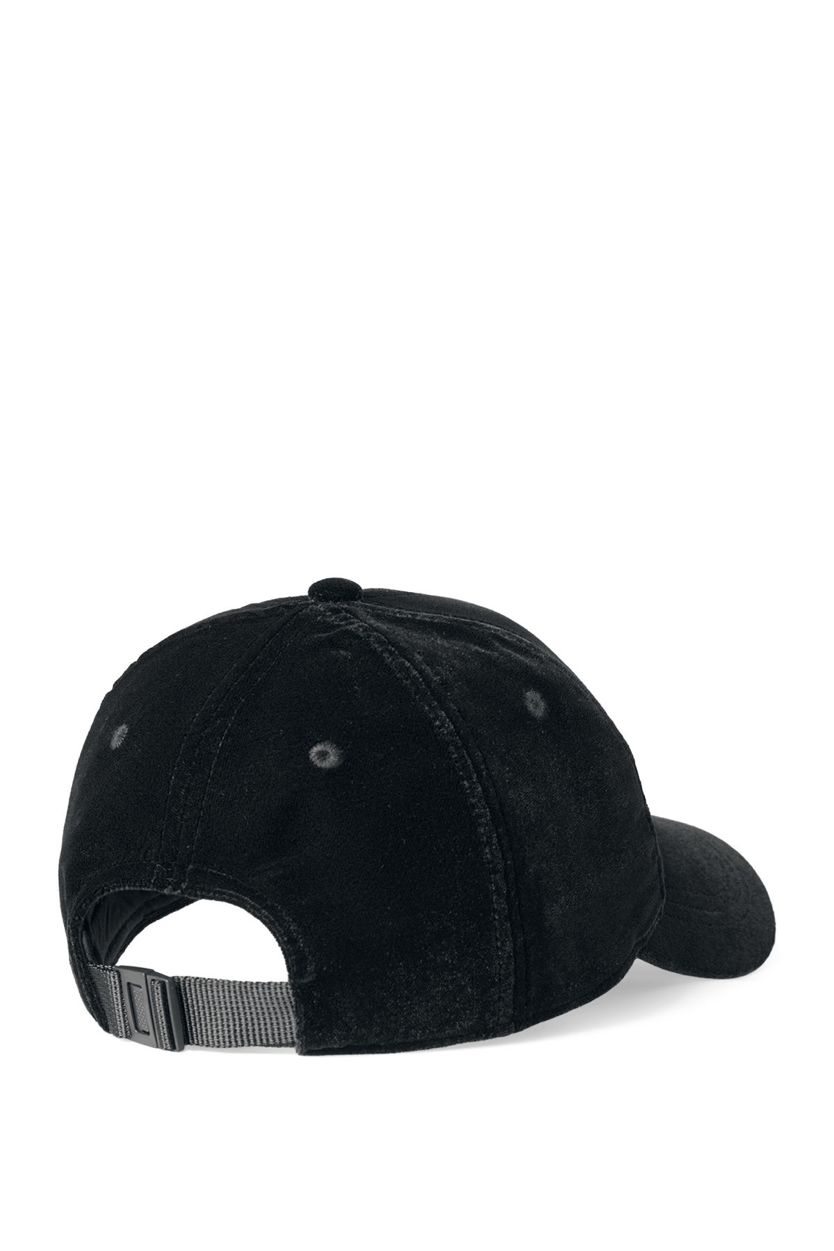Back image of Weekday lynch cap in black