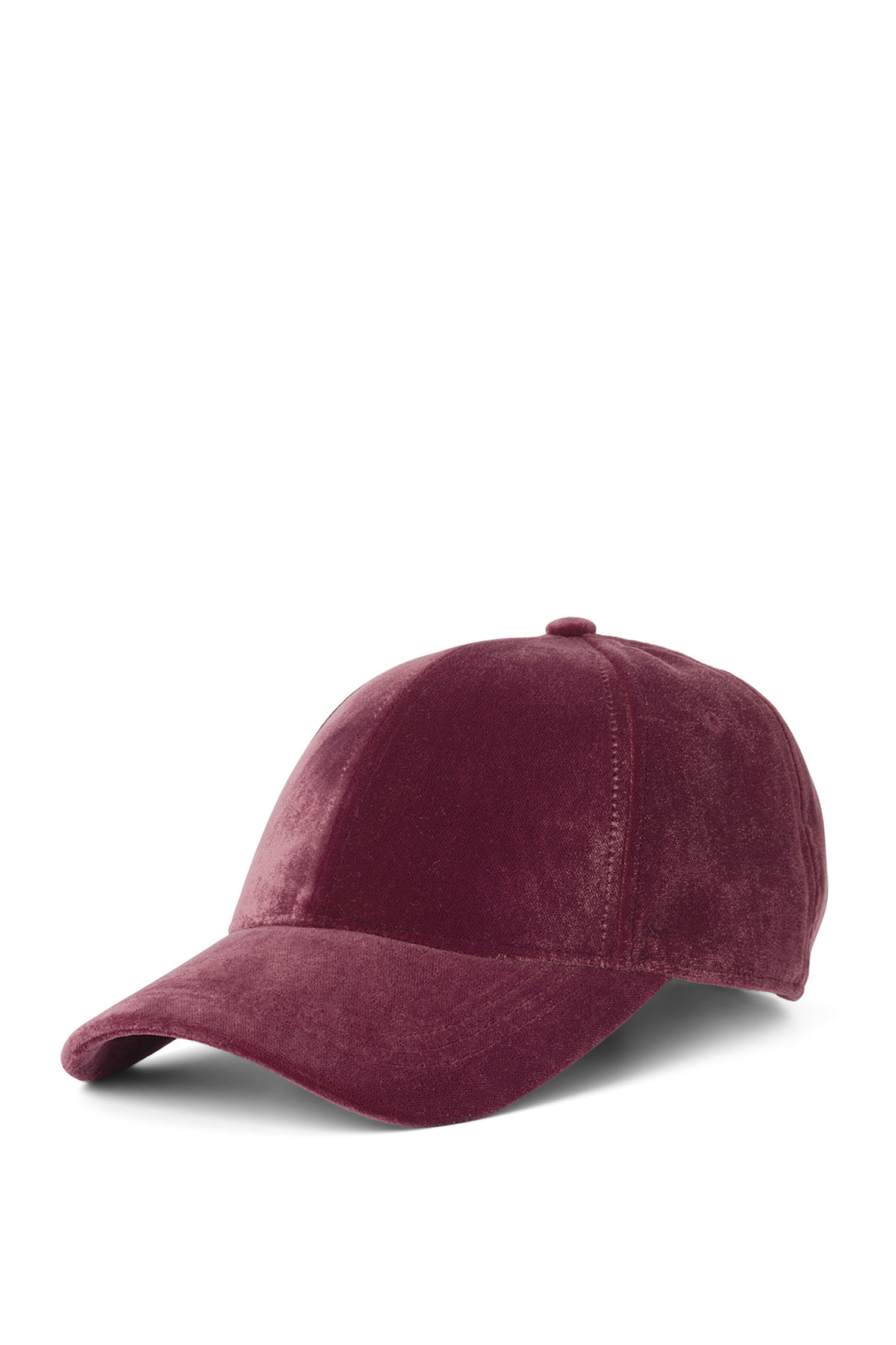 Front image of Weekday lynch cap in red