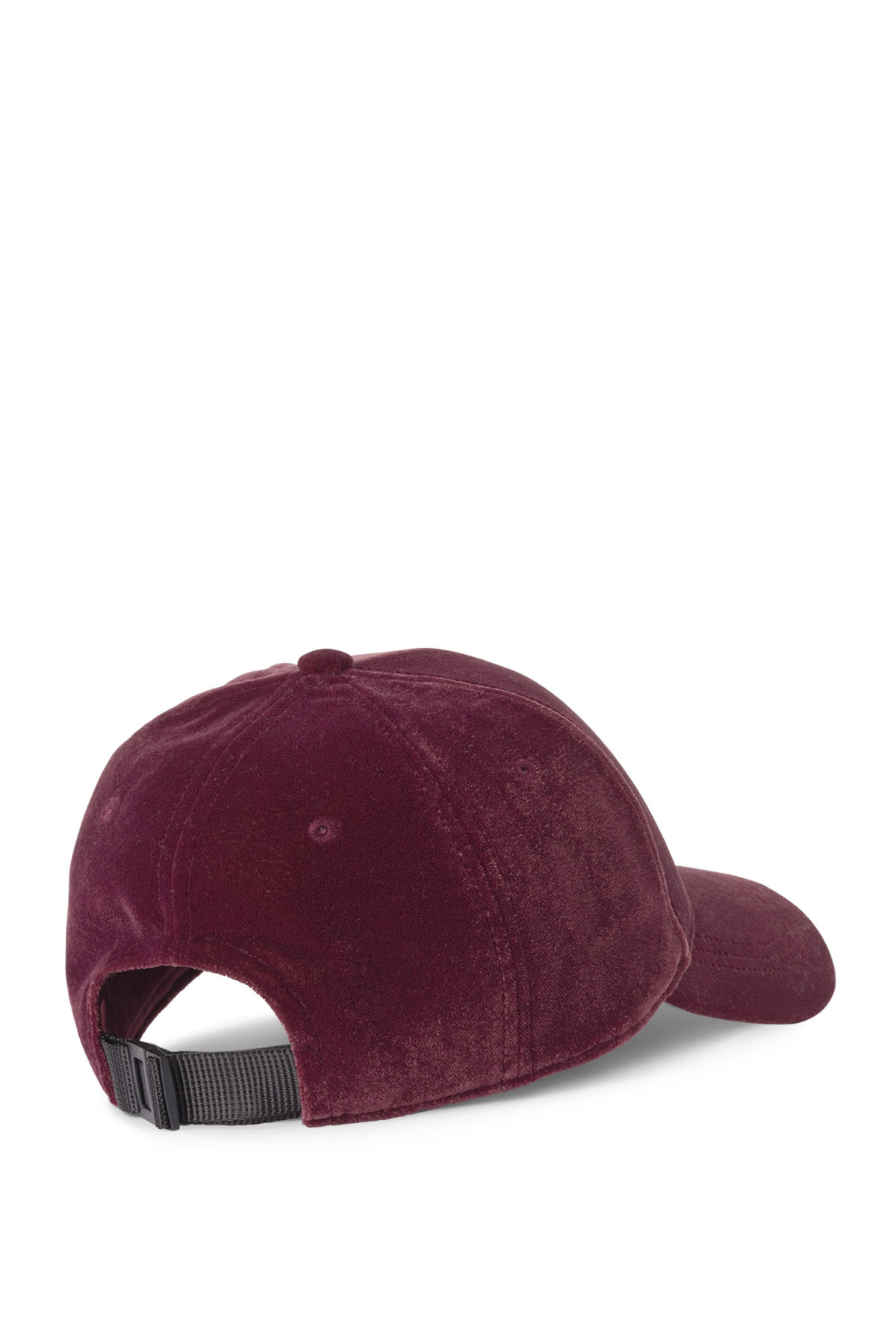 Back image of Weekday lynch cap in red