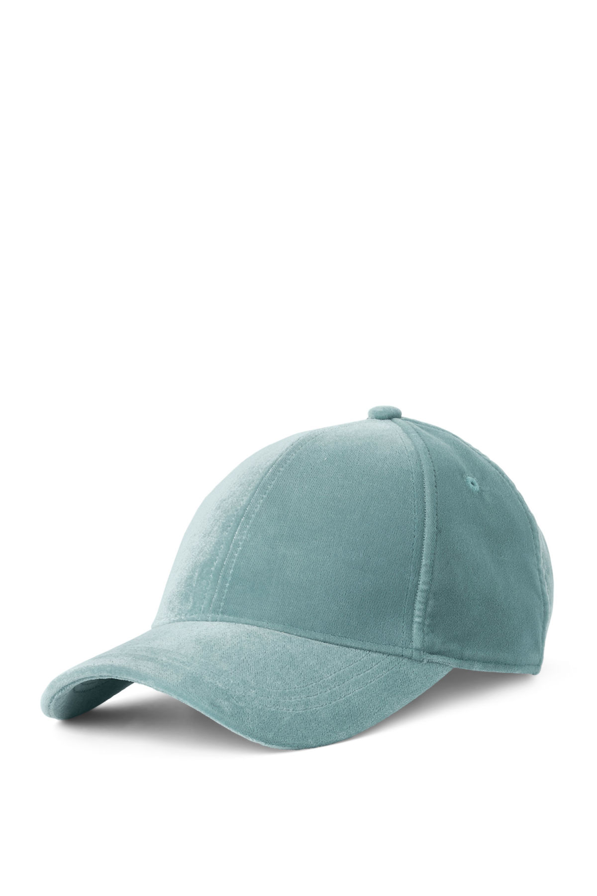 Front image of Weekday lynch cap in turquoise