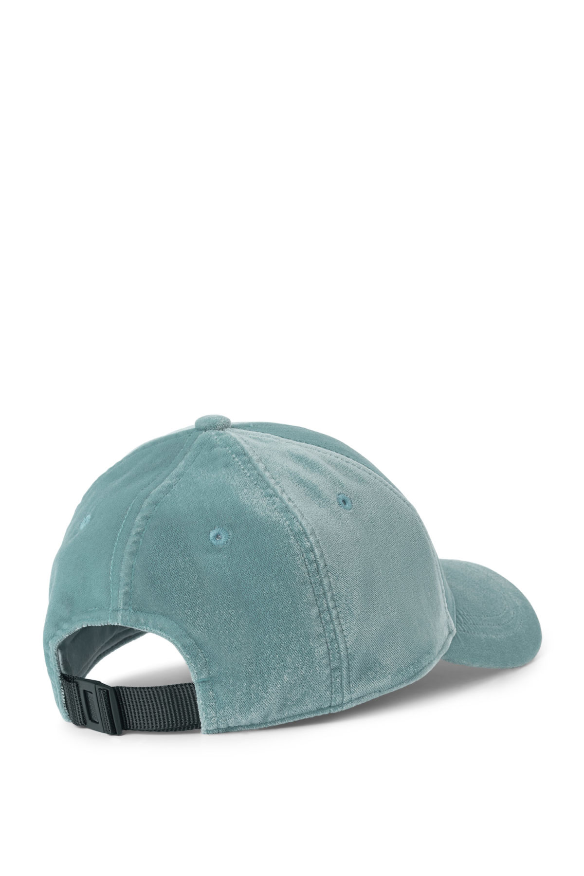 Back image of Weekday lynch cap in turquoise
