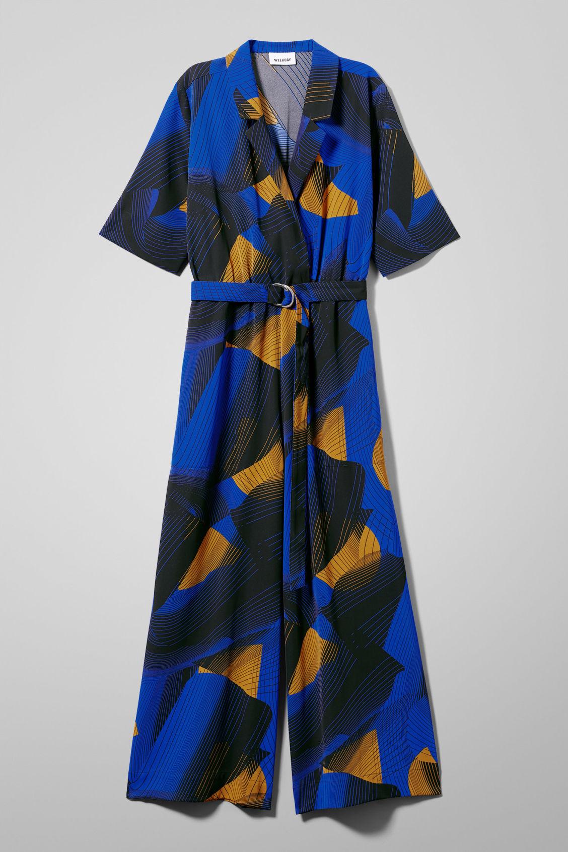 f0df7d7e0f Jimi Short Sleeve Jumpsuit - Black - Dresses   Jumpsuits - Weekday