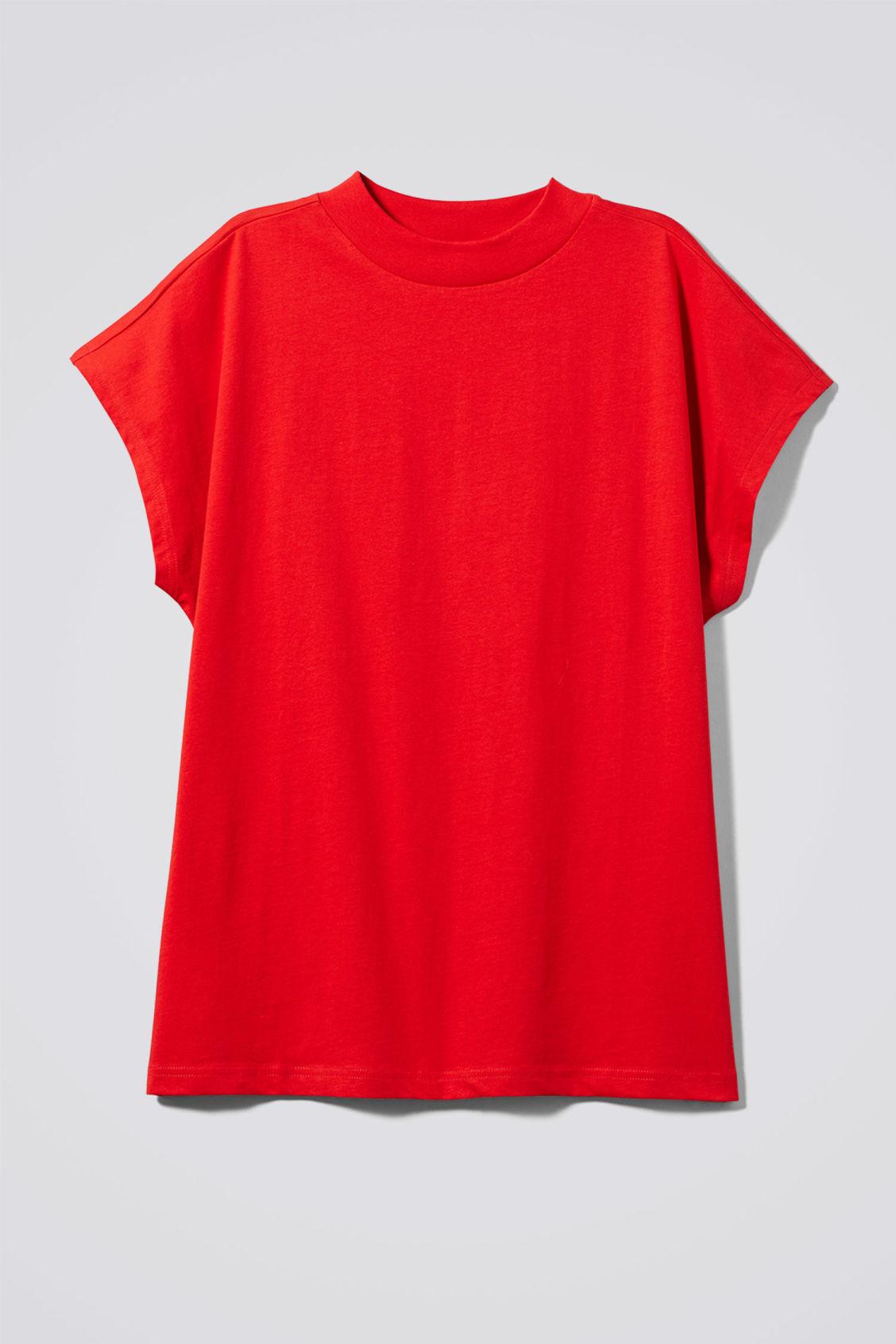 Weekday Prime T-Shirt - Red Huge Surprise nVN3hrviC