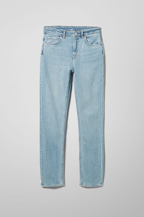 Weekday Way Swish Blue Jeans