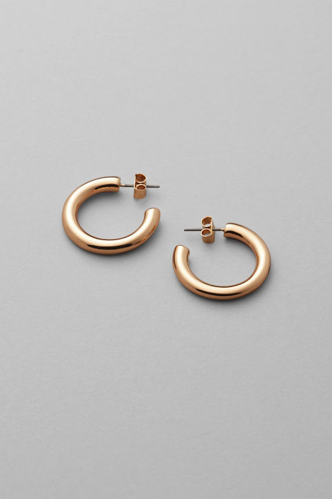 Weekday Thick Hoop Earrings