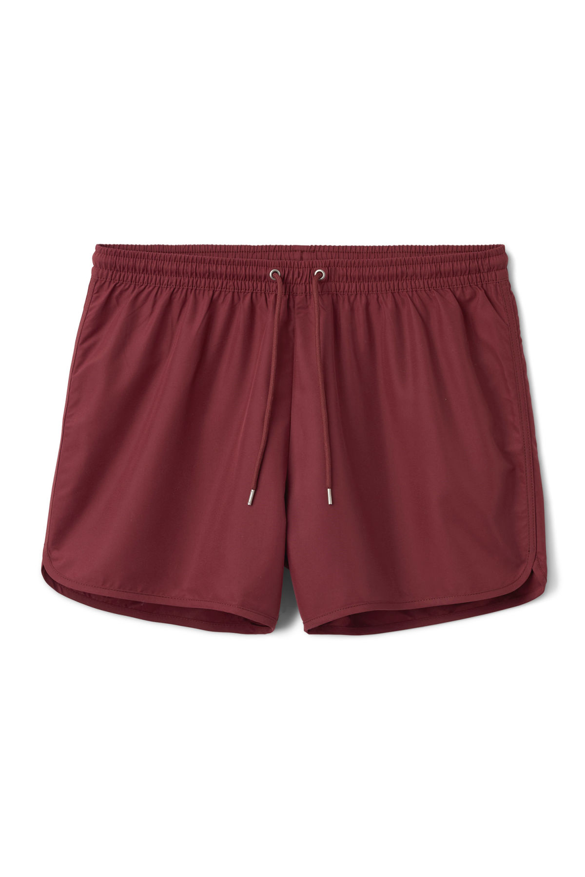 Front image of Weekday flow swim shorts in red