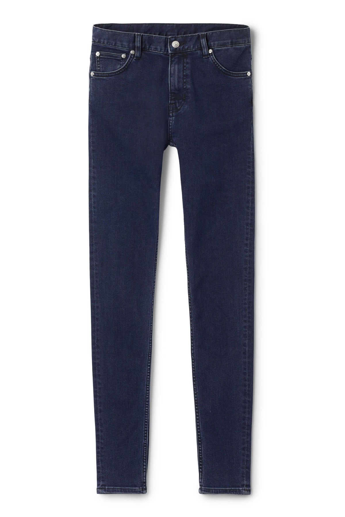 Front image of Weekday form od-11 jeans in blue