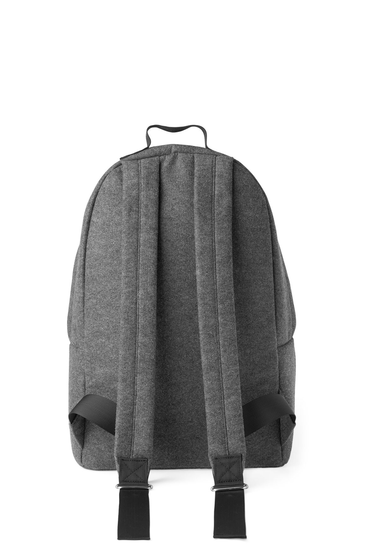 Back image of Weekday lean backpack in grey