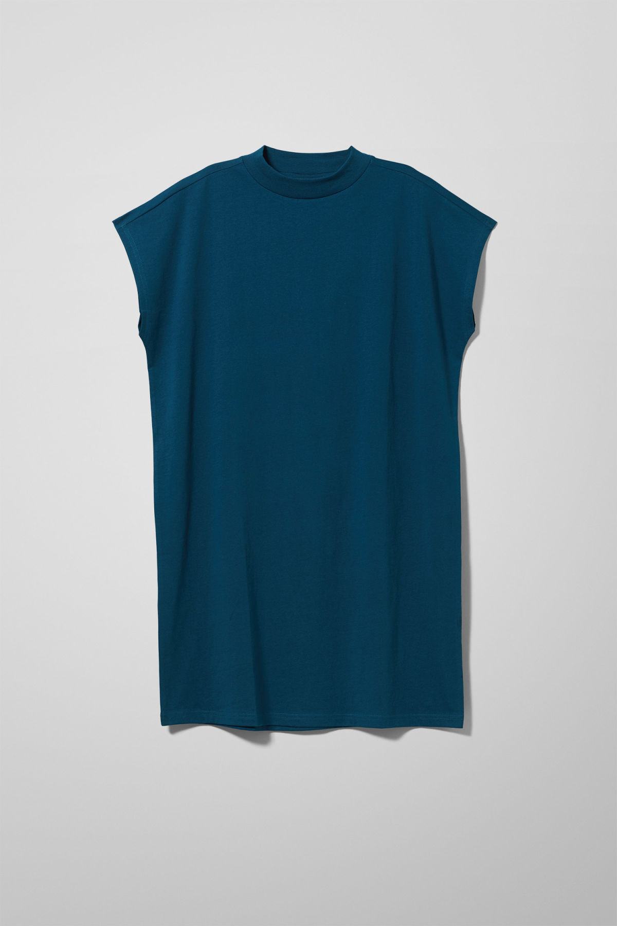 Front image of Weekday prime dress in blue