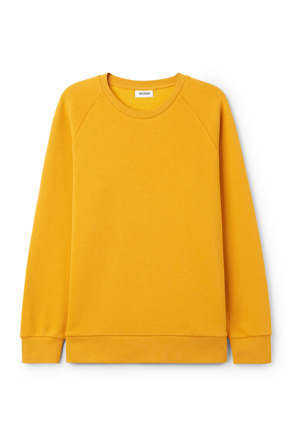 Paris Sweatshirt - Dark Yellow - Hoodies & sweatshirts - Weekday