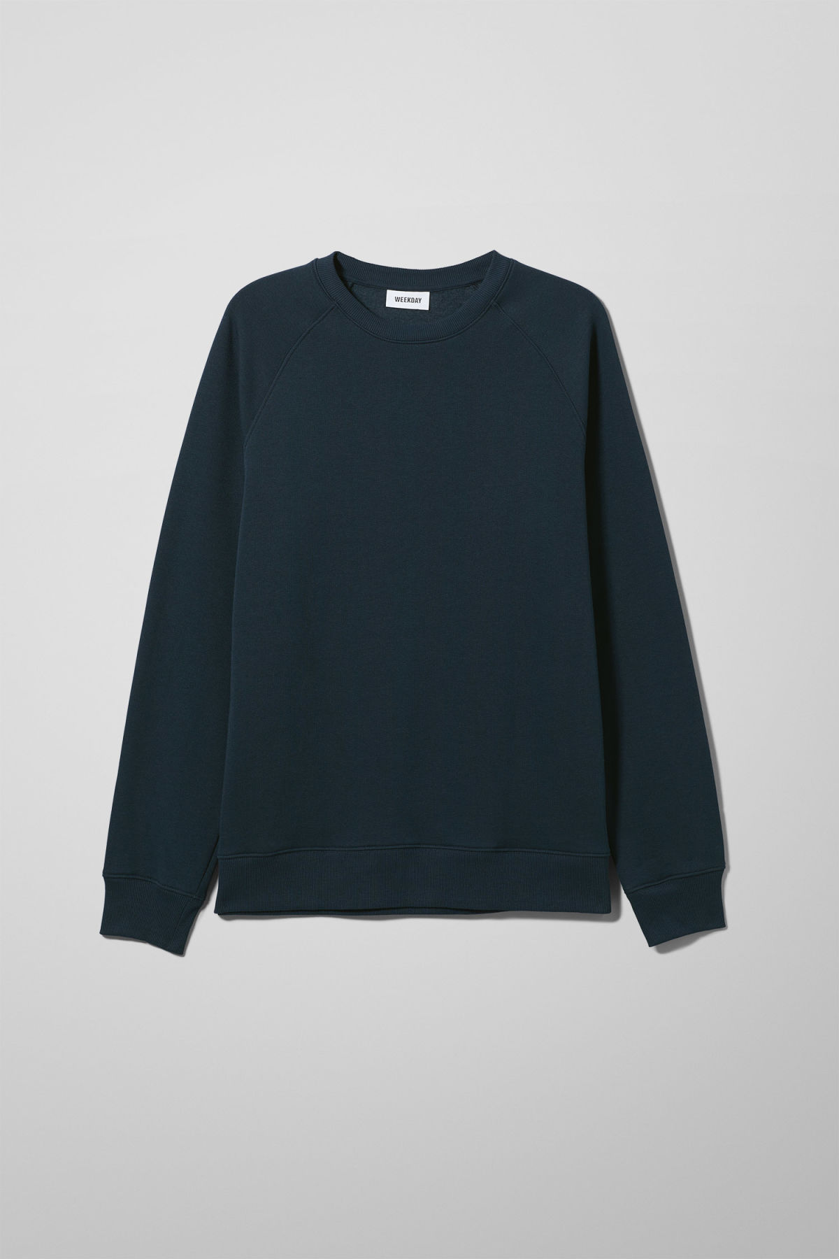 Front image of Weekday paris sweatshirt in blue
