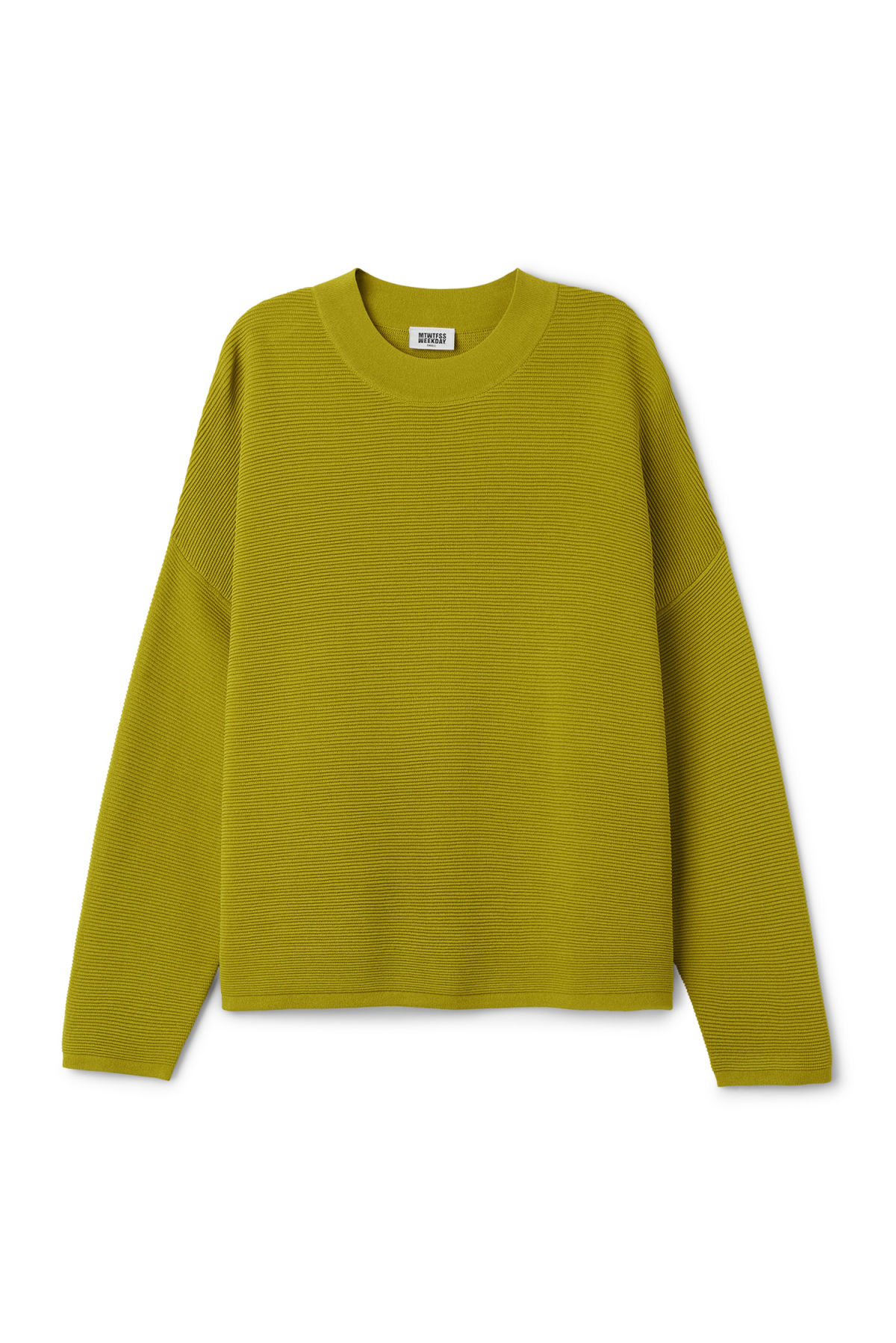 Lea Sweater - Yellow - Knitwear - Weekday