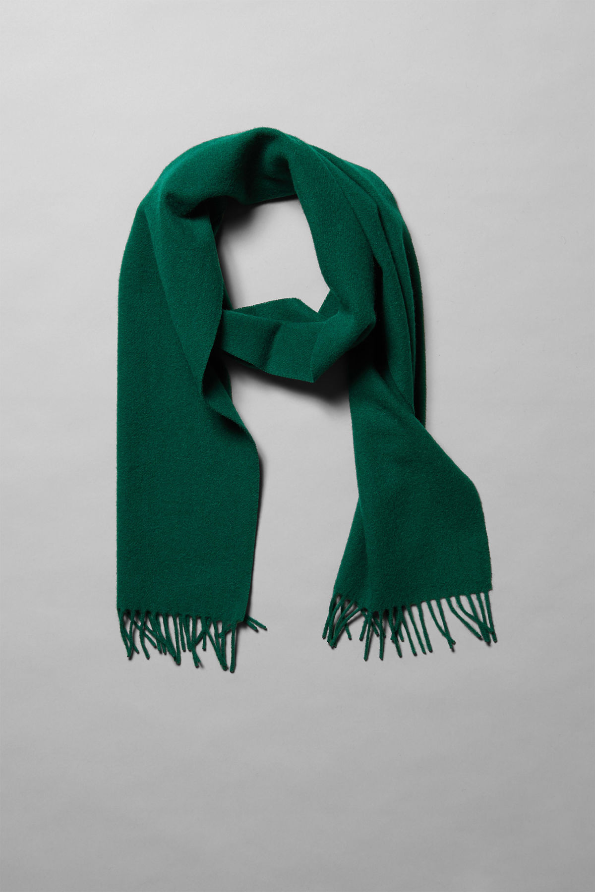 Back image of Weekday orbit scarf in green