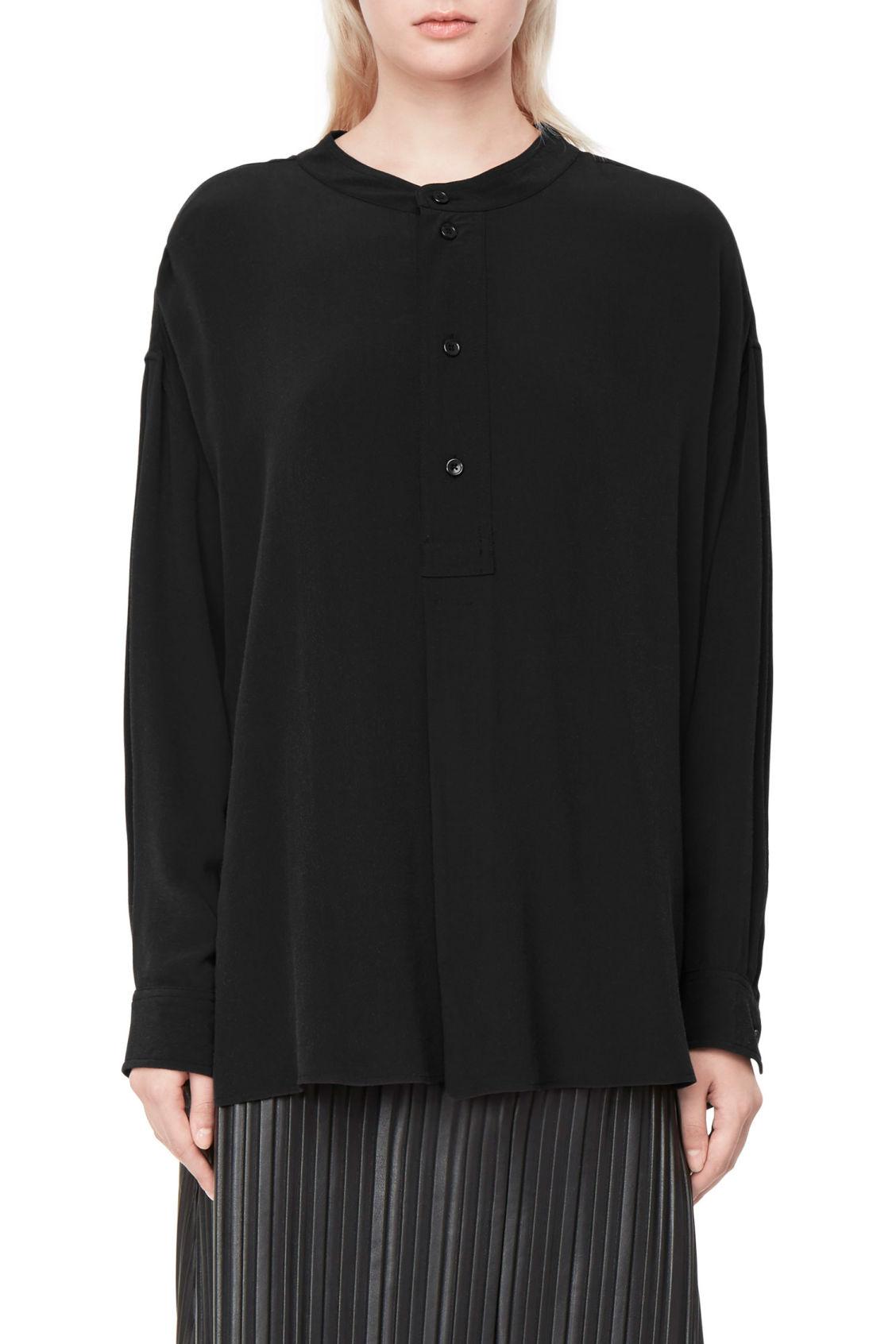 Weekday Giant Shirt - Black Nicekicks Pas Cher En Ligne Commerce À Vendre dIxI8ovgx