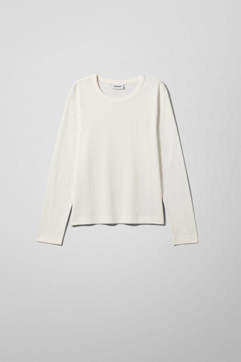Weekday Kate Long Sleeve T-Shirt