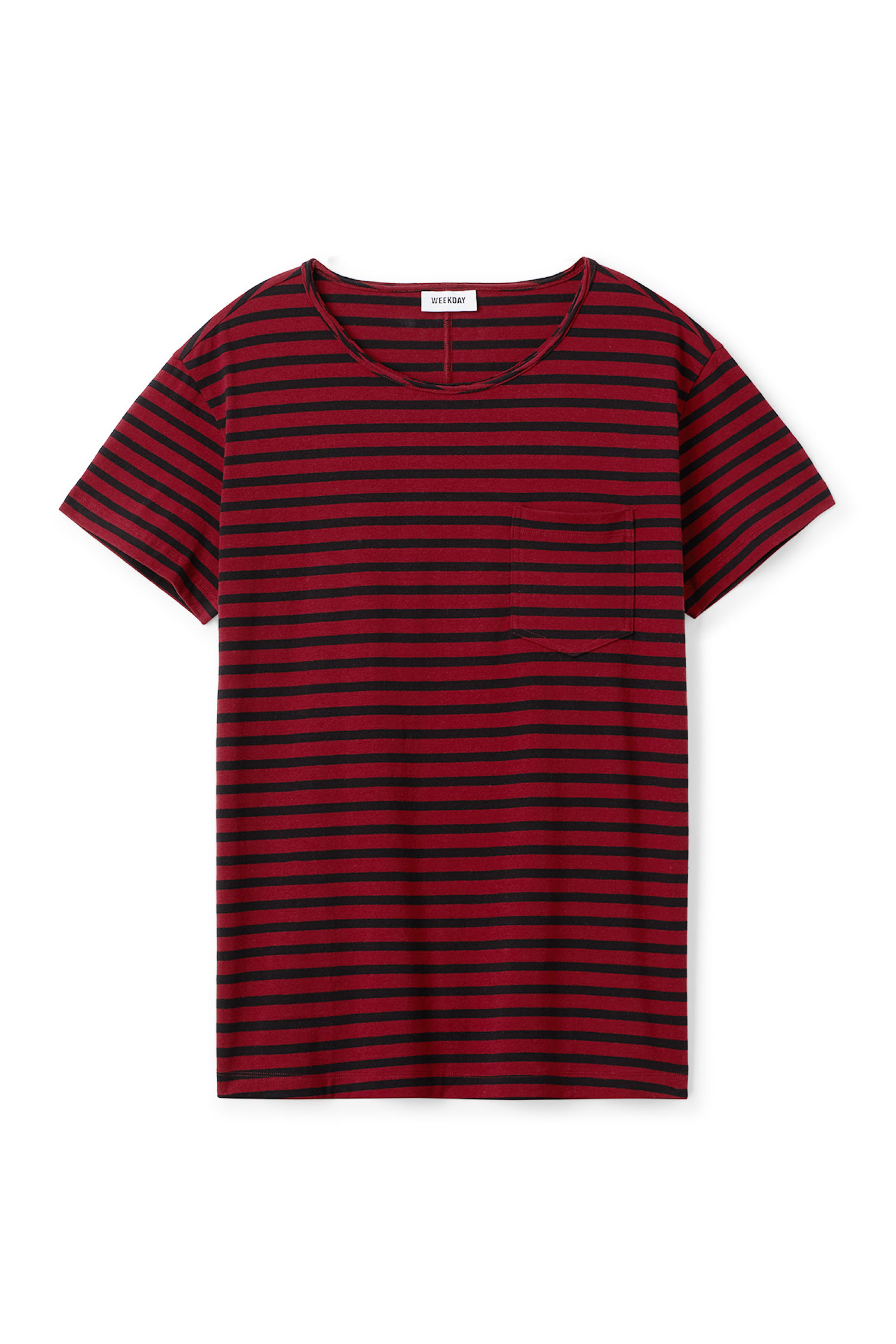 Weekday Rumour Striped T-shirt