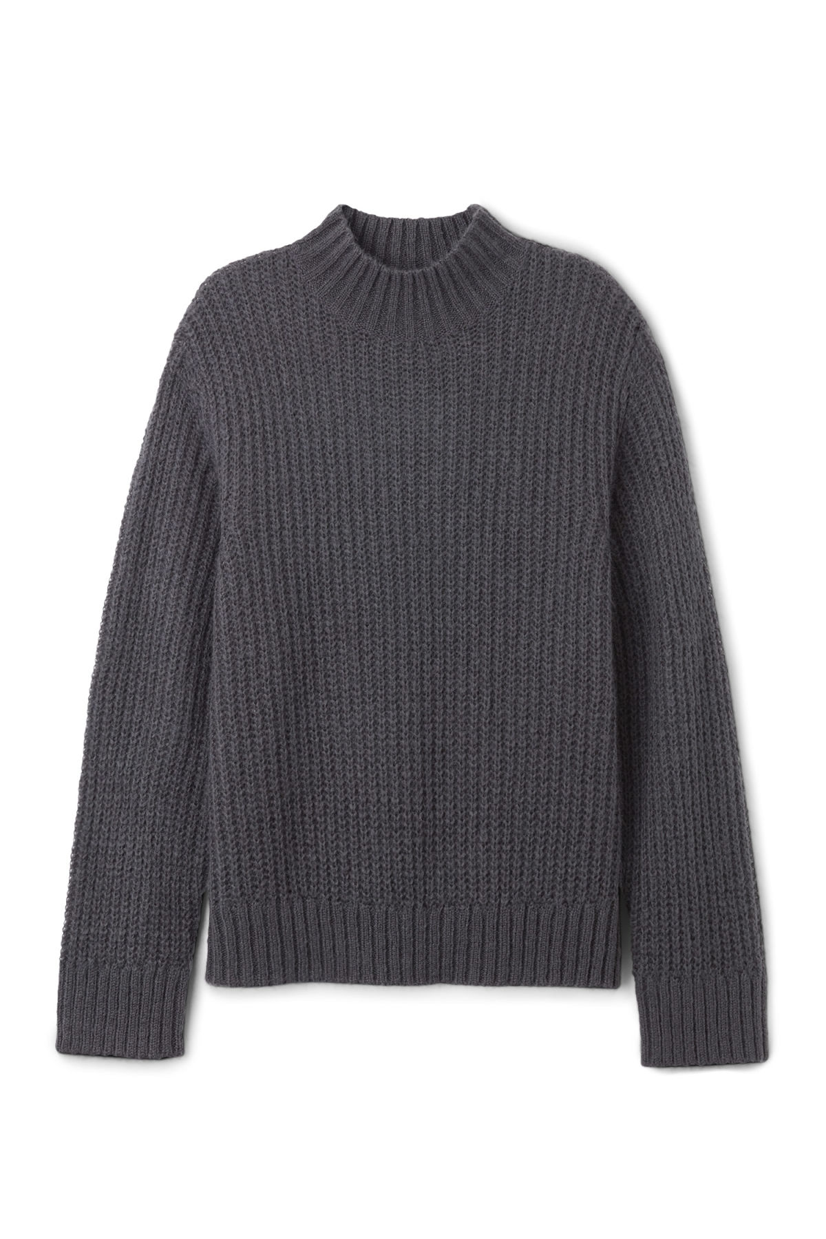 Front image of Weekday lightning sweater in blue