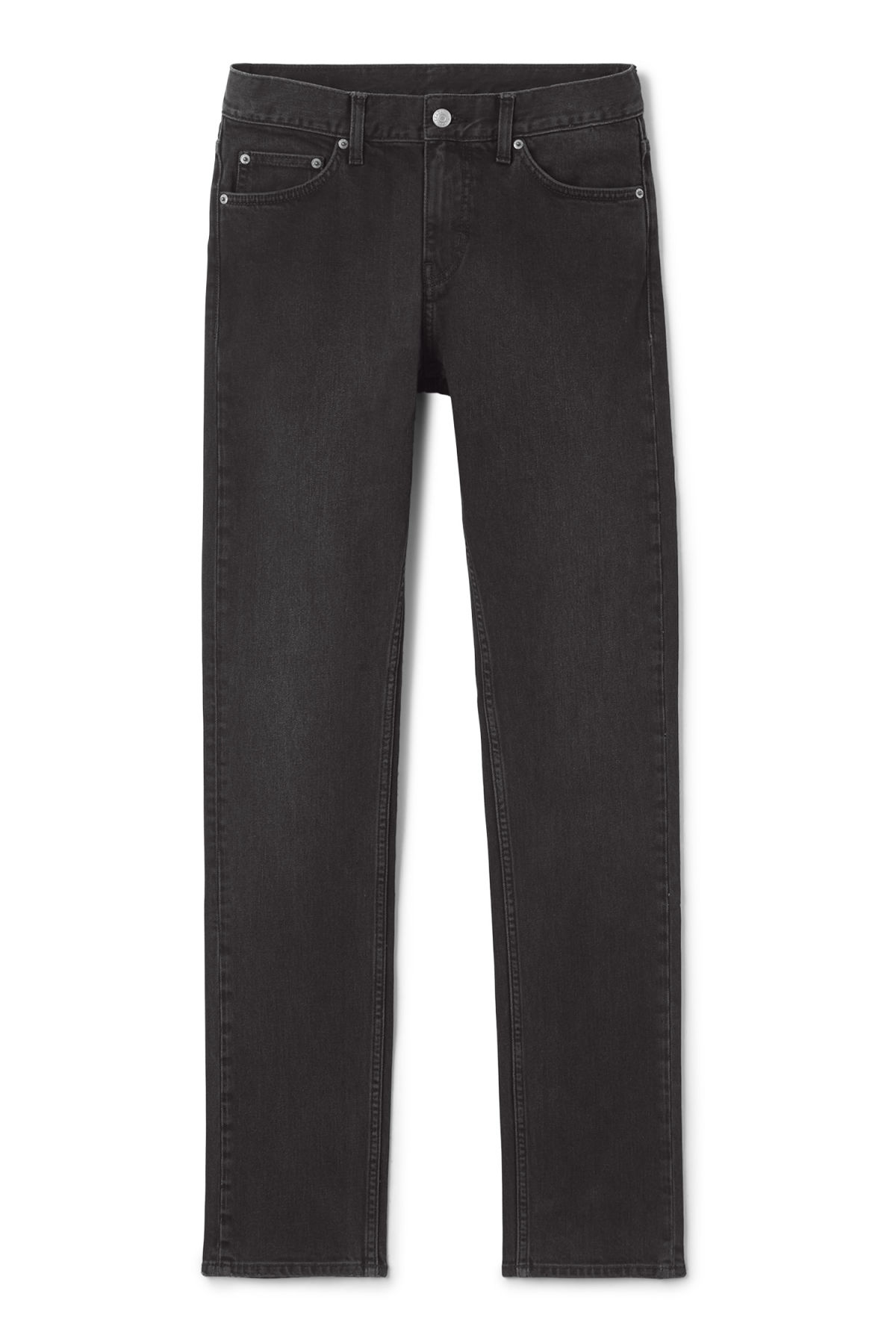 Front image of Weekday wednesday great black jeans in grey