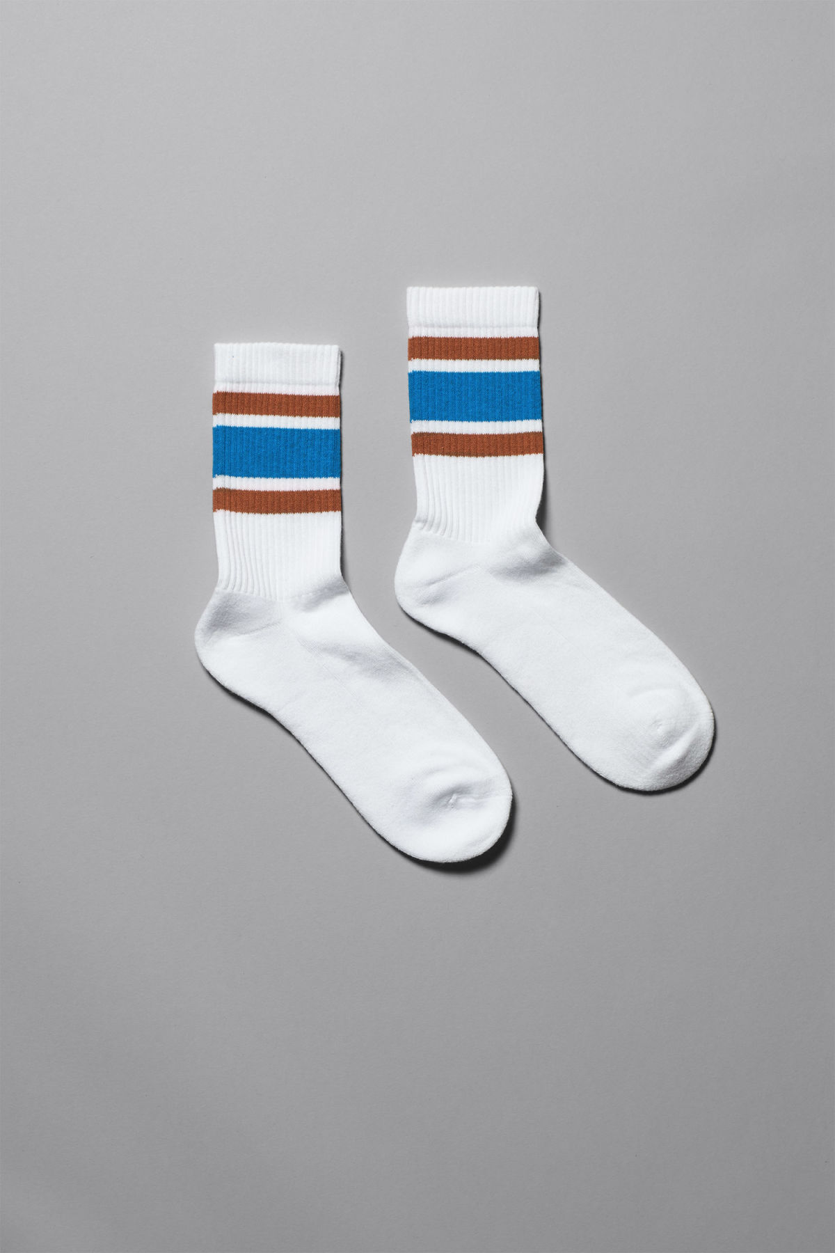 Front image of Weekday ten socks in orange