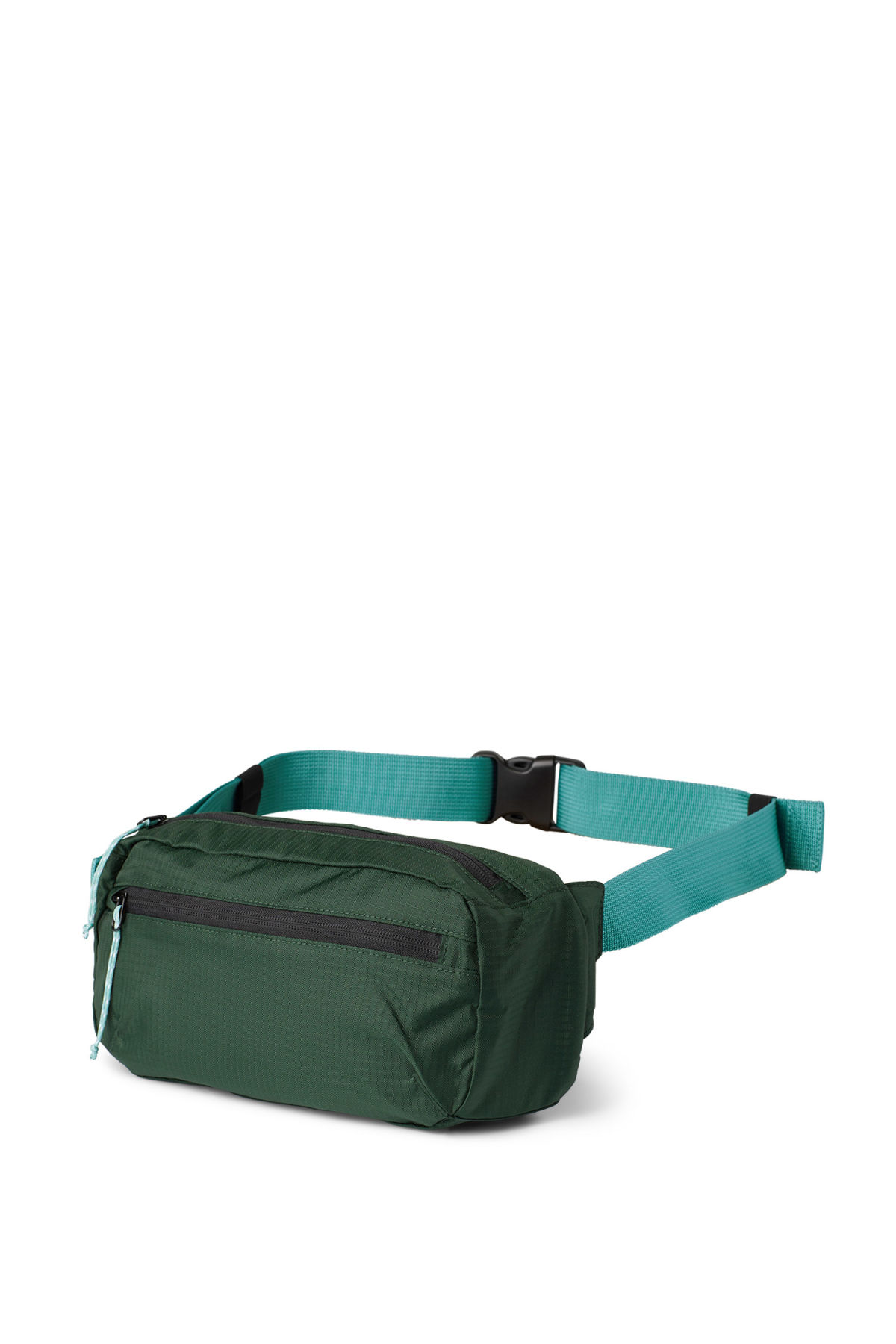 Front image of Weekday trip waist bag in green