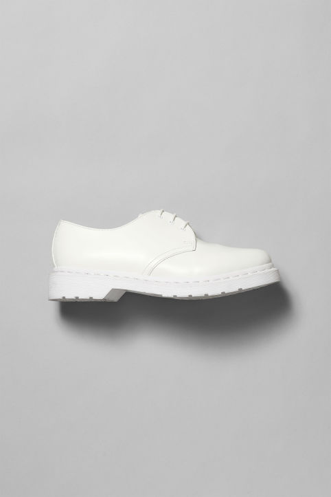 Dr Martens Mono Low White