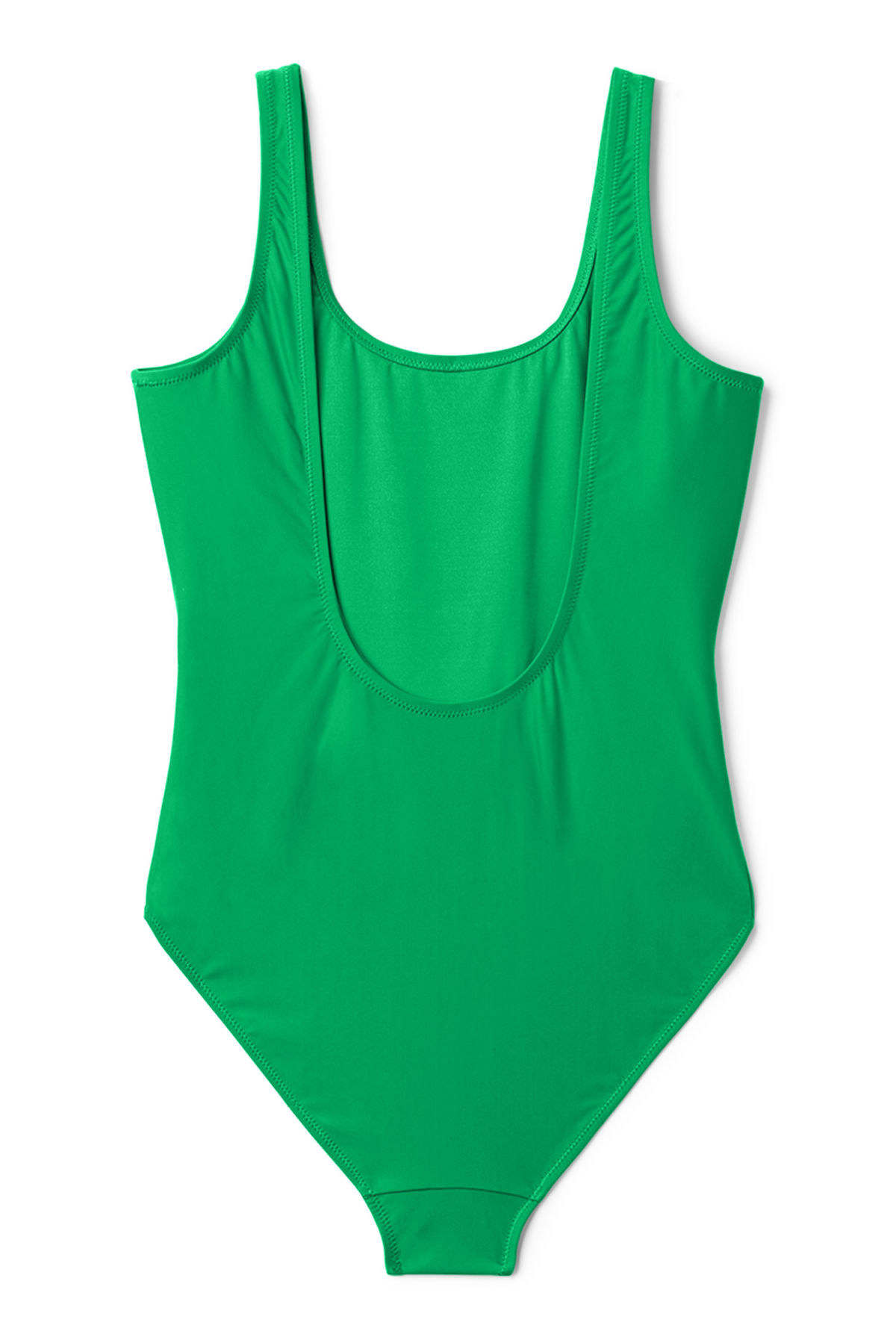 Back image of Weekday day swimsuit in green