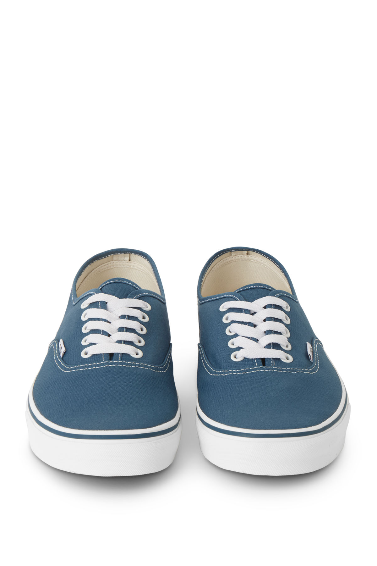 Side image of Weekday v authentic in blue