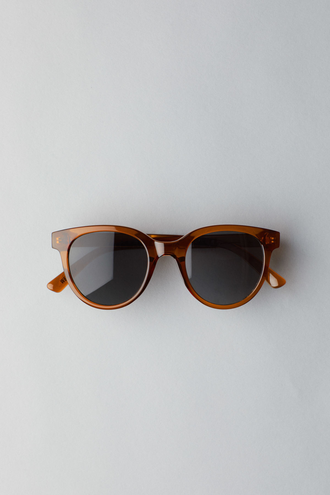 Weekday Transfer Rounded Sunglasses - Green sDGvJX