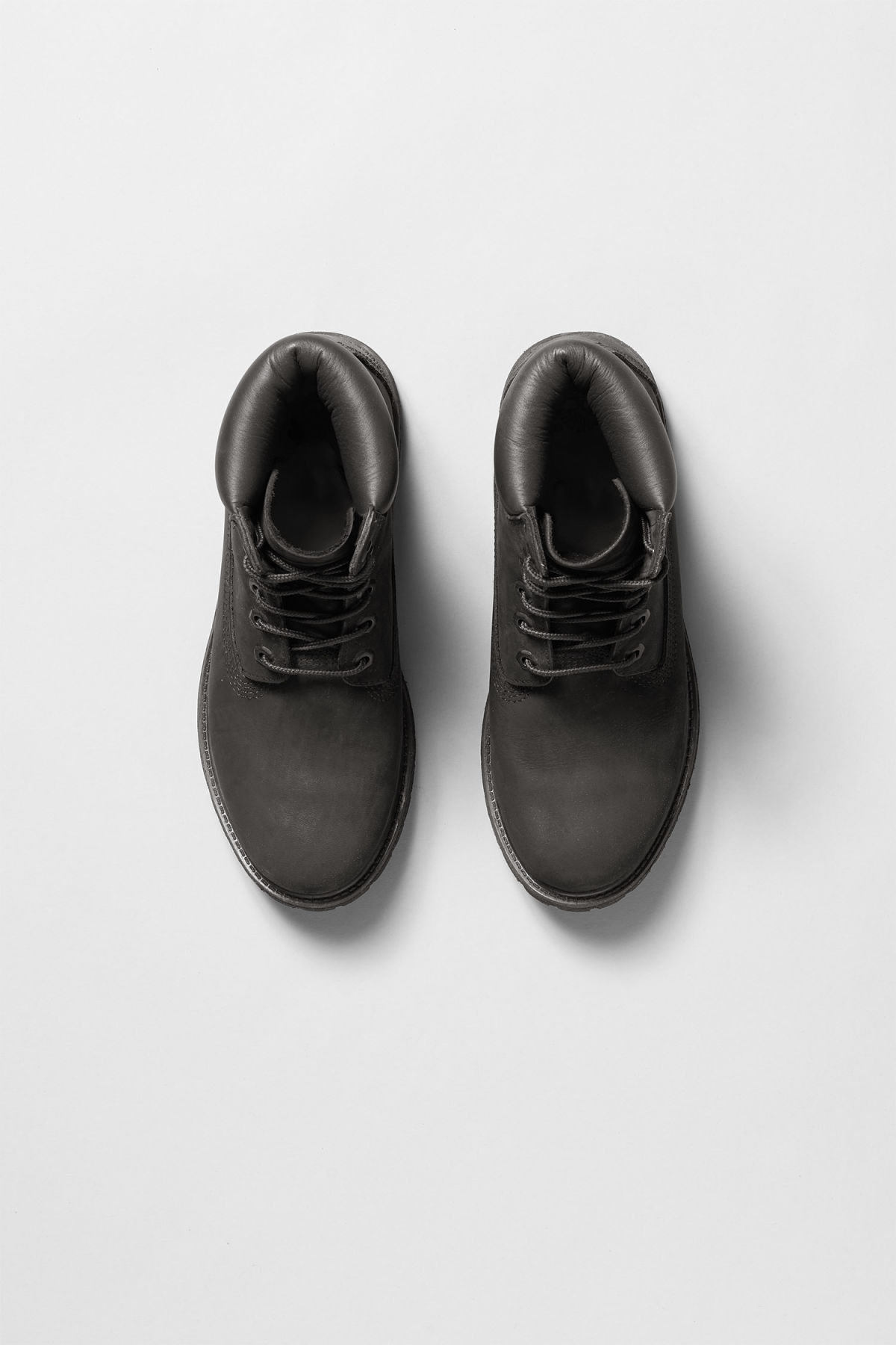 Back image of Weekday premium boots black in black