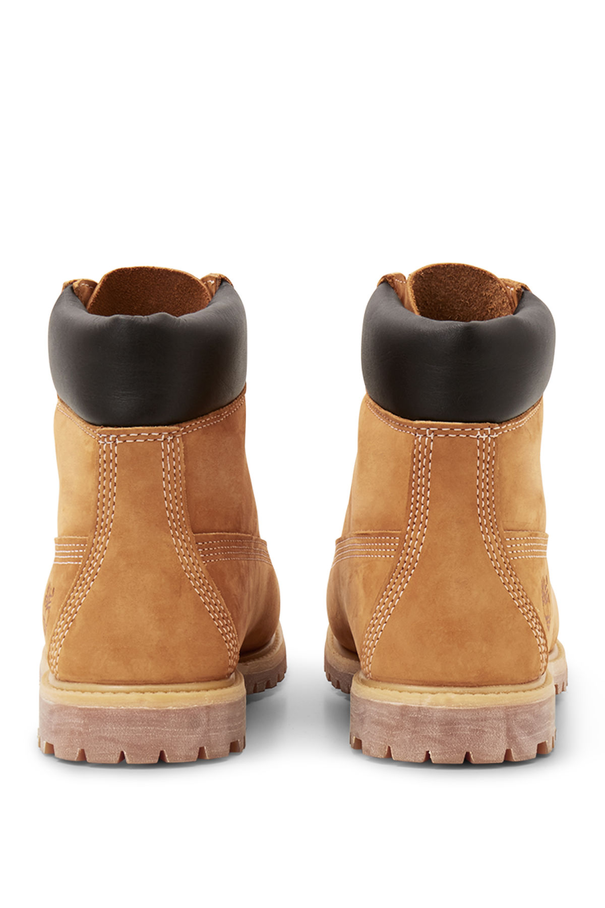 Side image of Weekday premium boots yellow in yellow