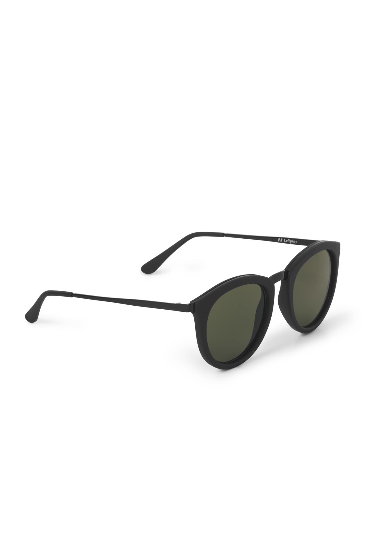 Side image of Weekday no smirking sunglasses in black