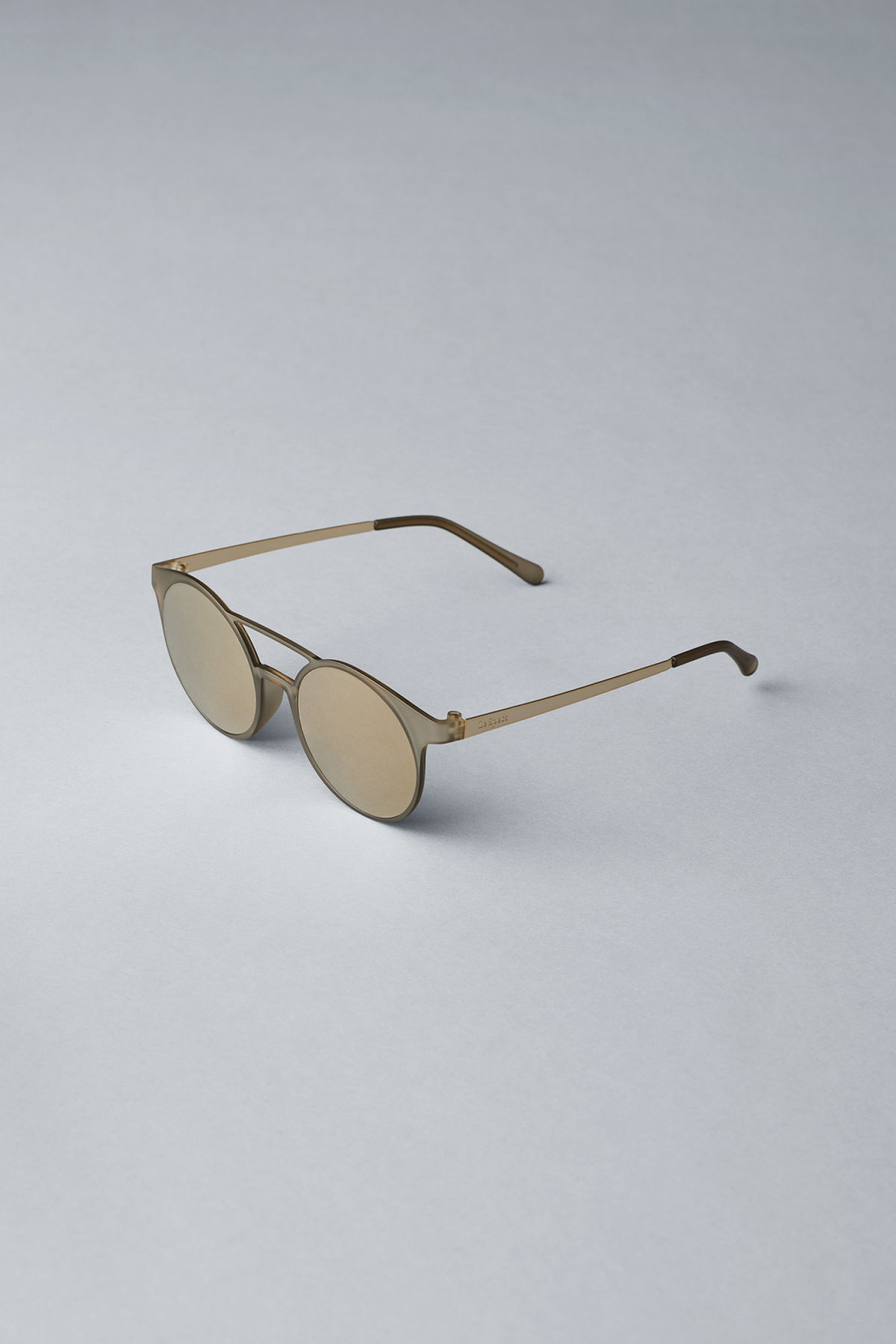 Back image of Weekday demo mode sunglasses in grey