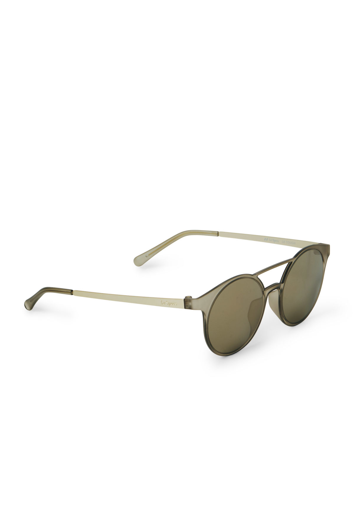 Side image of Weekday demo mode sunglasses in grey