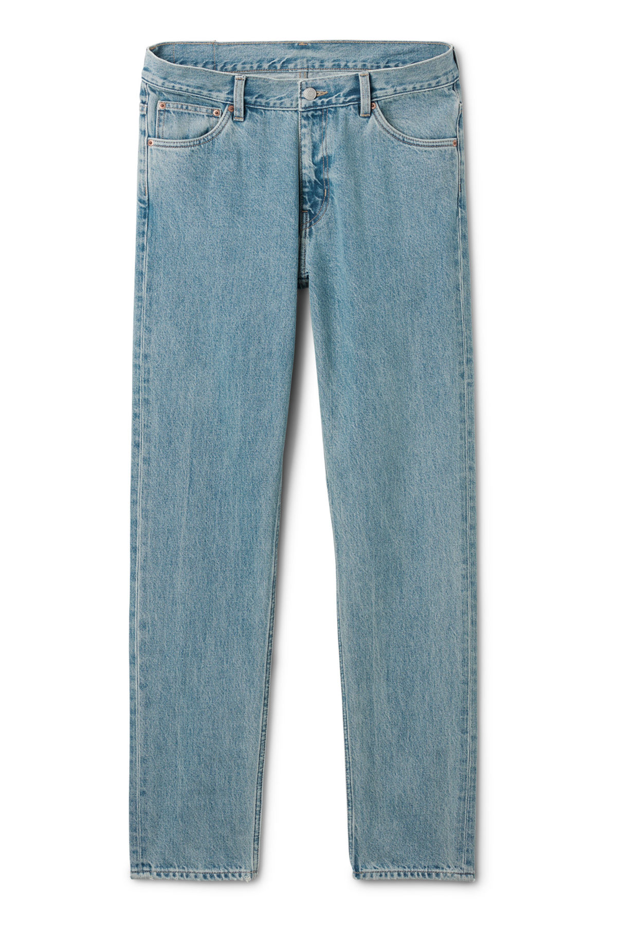 Front image of Weekday sunday blue trevor jeans in blue