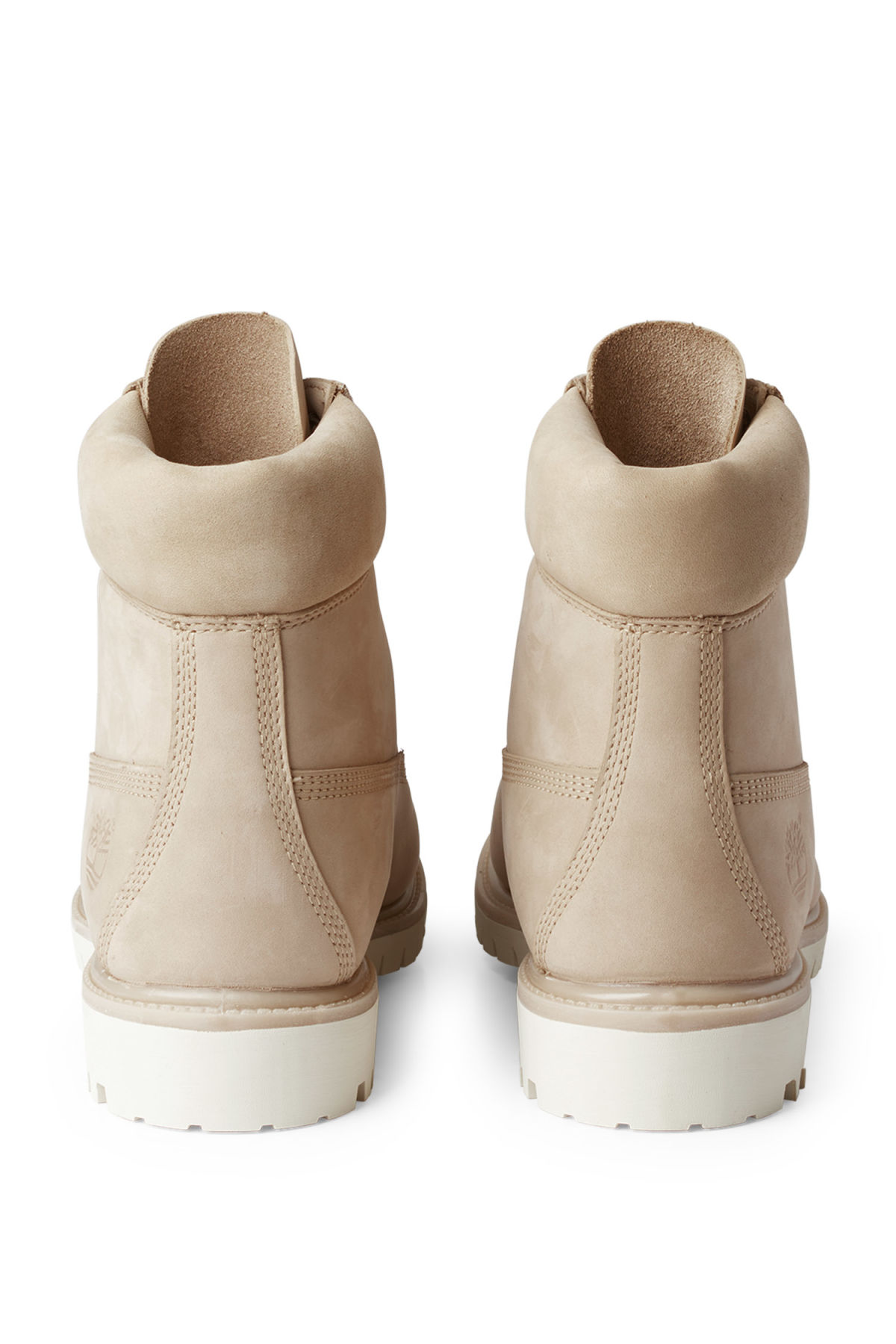 Back image of Weekday timberland premium boot in beige