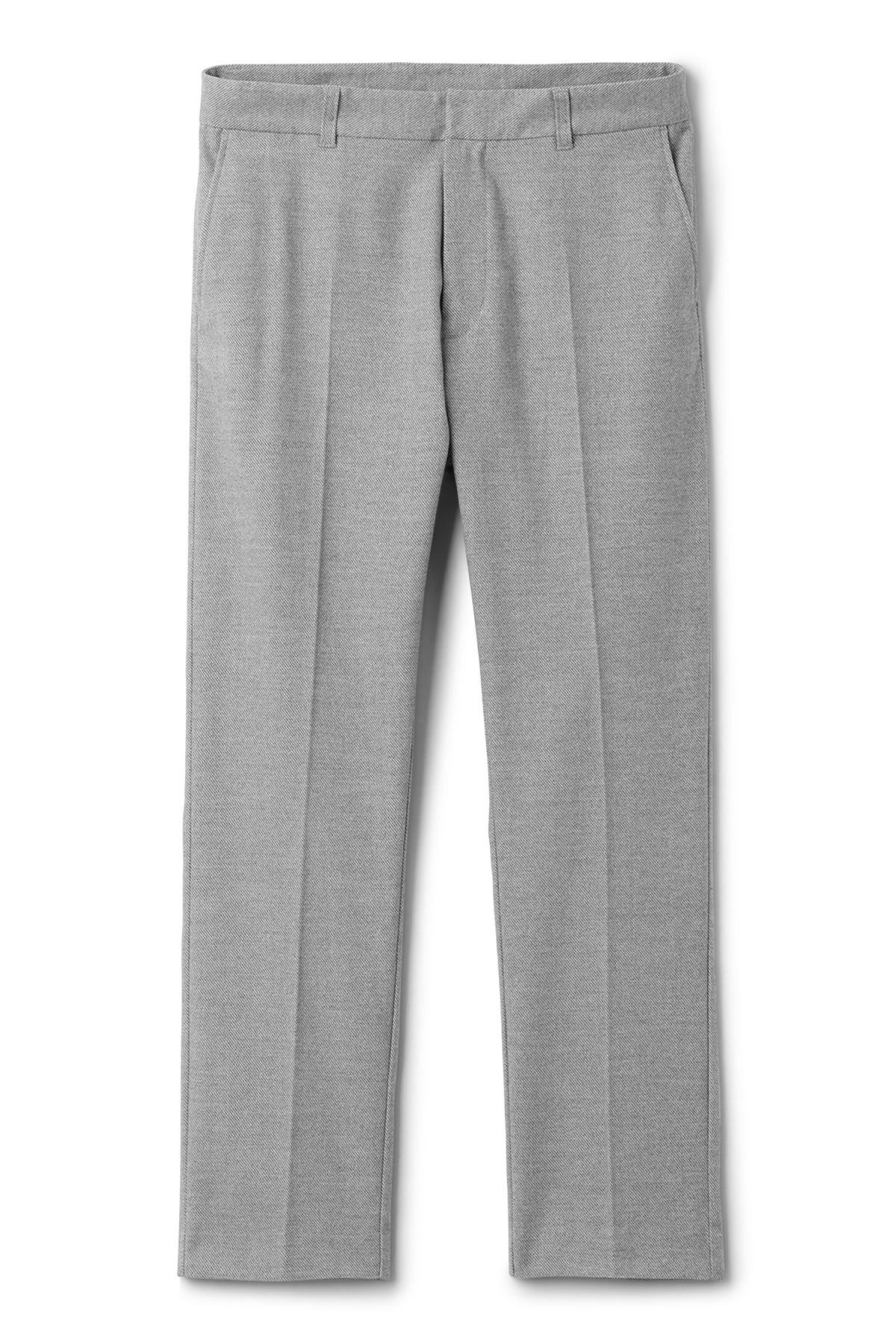 Front image of Weekday lund suit trouser in grey