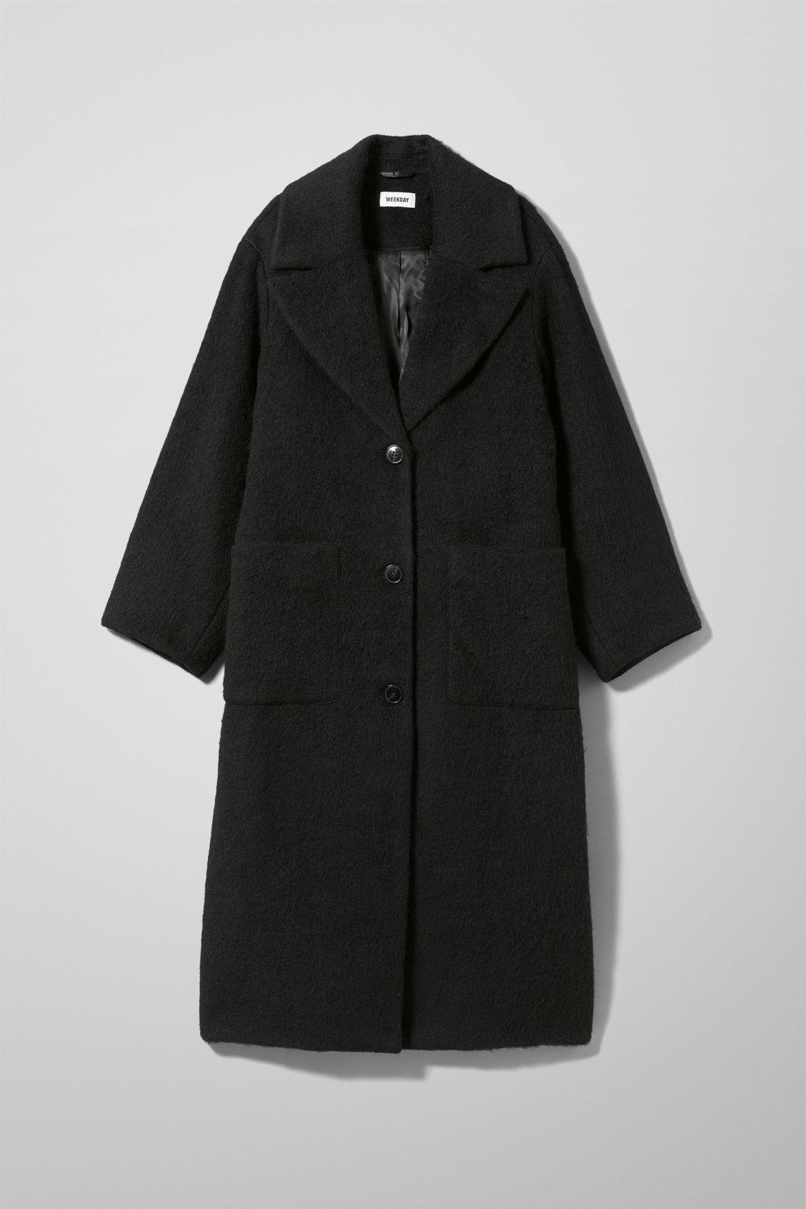 Jackets amp; Martha Black Parka Weekday Coats vqx10gH