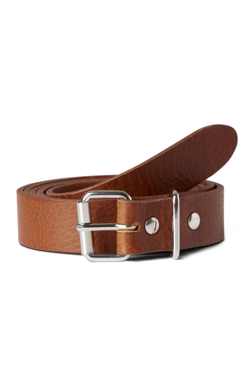 Weekday Fin Leather Belt