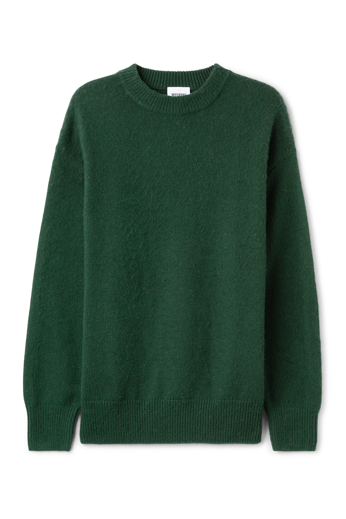 Ken Sweater - Green - Sweaters - Weekday