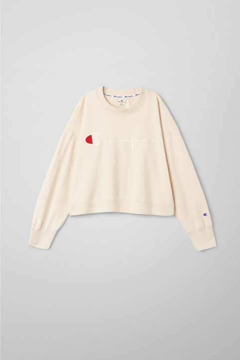 Arch Cropped Sweatshirt