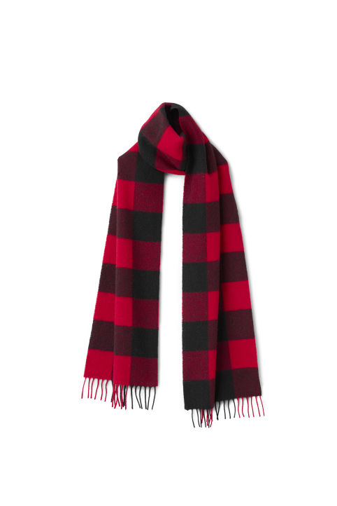 Weekday Check Scarf