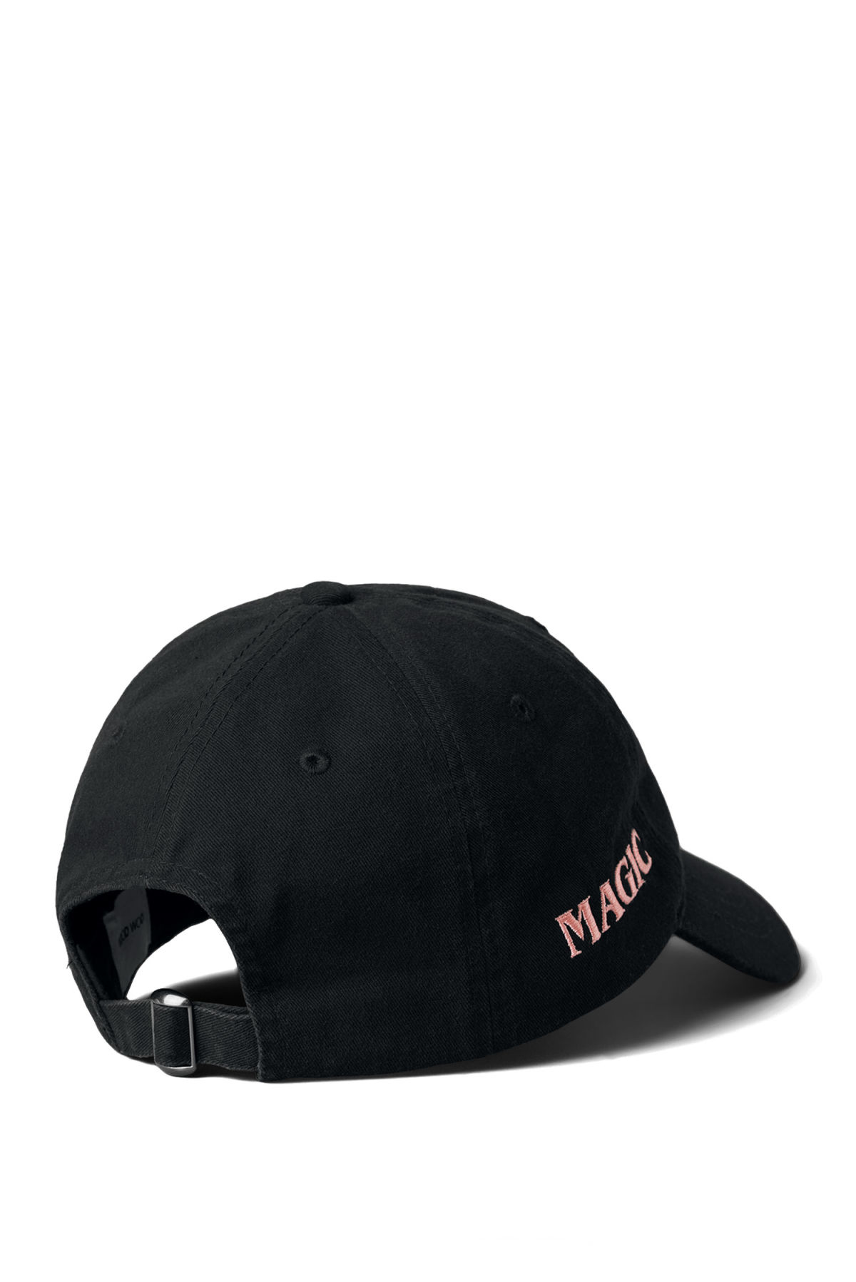 Back image of Weekday low profile cap in black